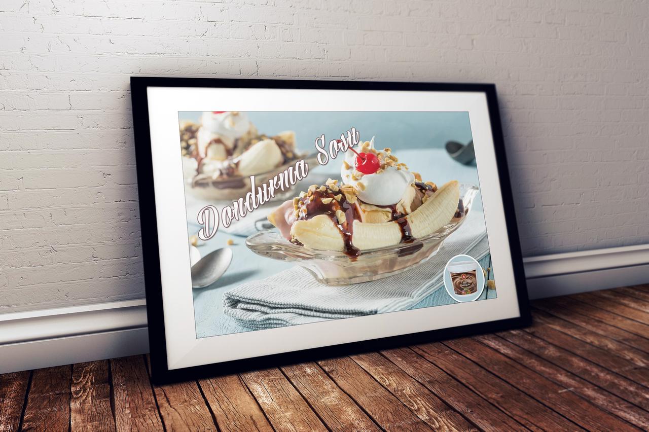 Akiş Şekerleme - Dondurma Sosu